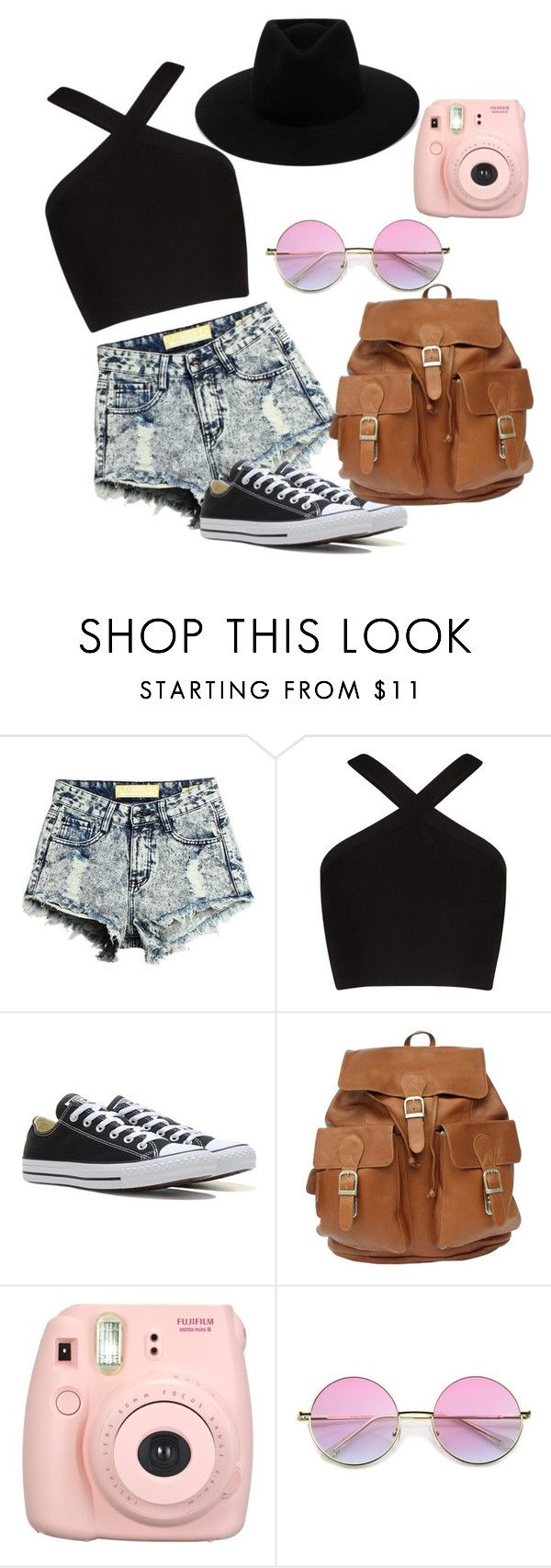 #162 by potato-cupcake on Polyvore featuring BCBGMAXAZRIA, Converse, rag & bone and Fujifilm