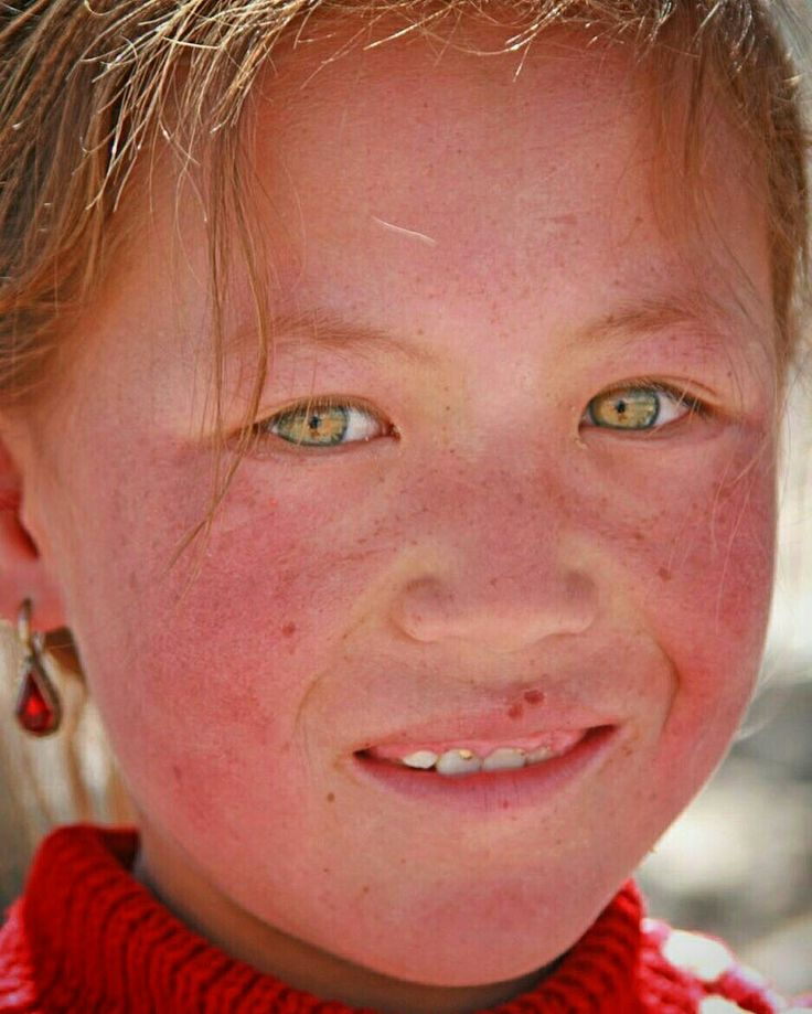 Black people with chinese eyes