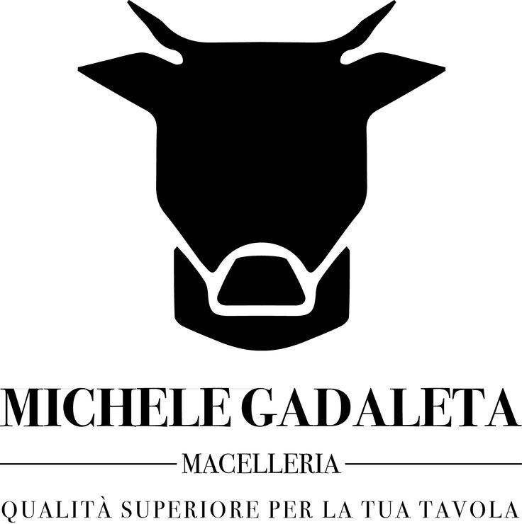 #logo #macelleriagadaleta #michelegadaleta #shop #butcher #butchershop #grafica #graphics #cow