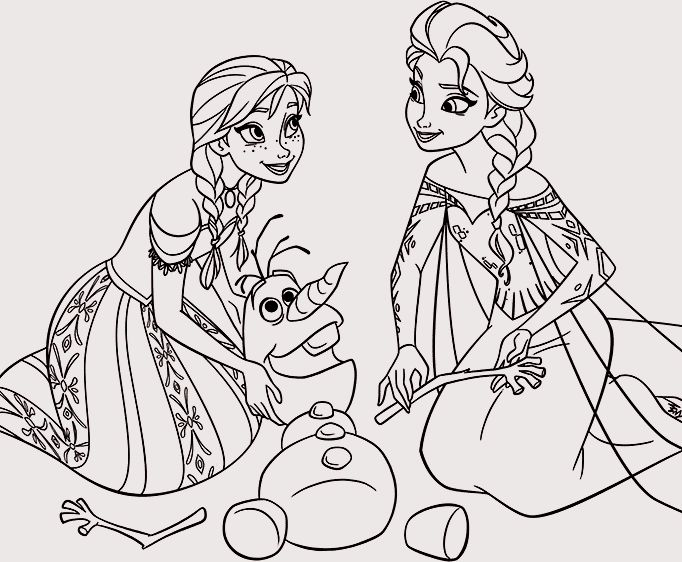 7 best Elsa Frozen images on Pinterest Coloring pages for girls