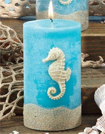 Sea Horse candle