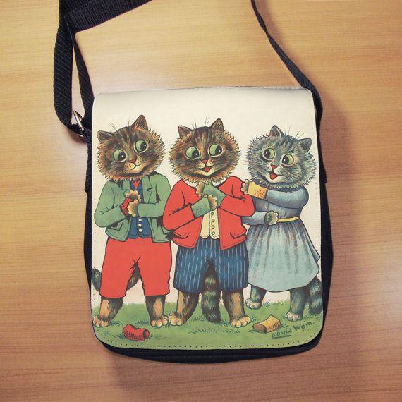 Three Little Kittens Vintage Cat Illustration by RegalosOnline