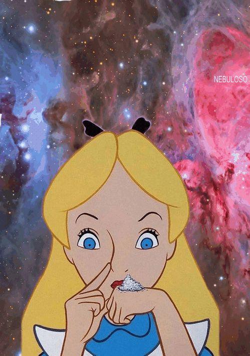 trippy disney cocaine drugs lsd acid psychedelic Alice In Wonderland Drogas psicodelico psicodelia nebulosa alucinaciones neba