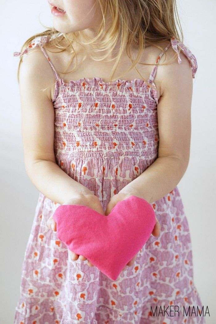 My favorite way to help with boo boos are these heart DIY cold packs. Made from upcycled shirts and rice, they're an easy way to soothe both kids and mama.