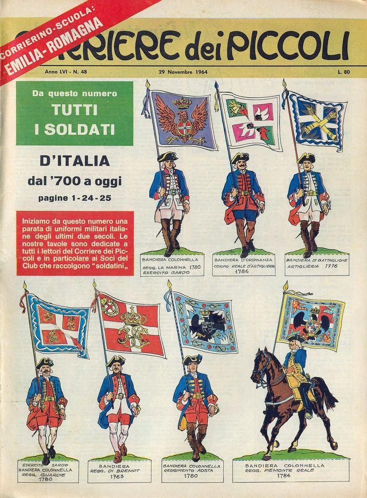 Corrierino e Giornalino: Soldati d'Italia: il '700