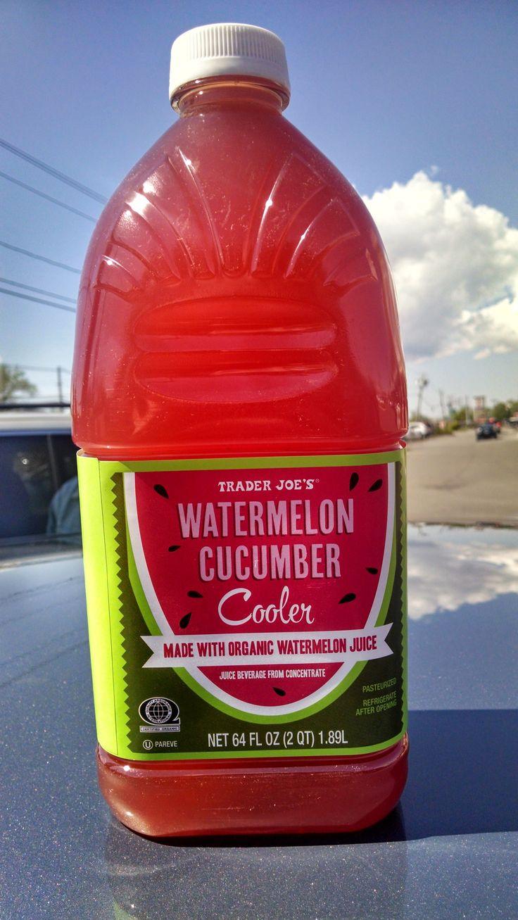 Trader Joe's Cooler Watermelon Cucumber in 2020 Trader