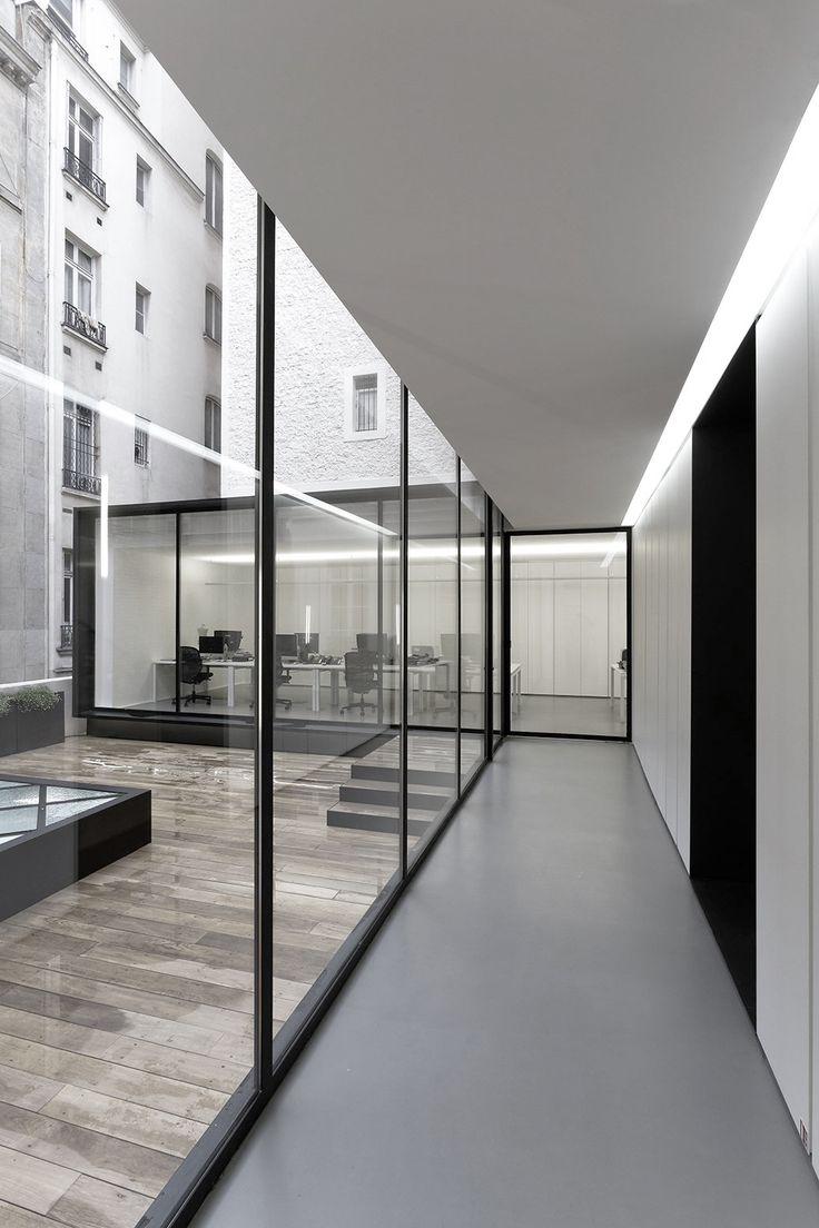 Dior Men Office Paris ┃ Antonio Virga Architecte + Dior Men Architecture Department