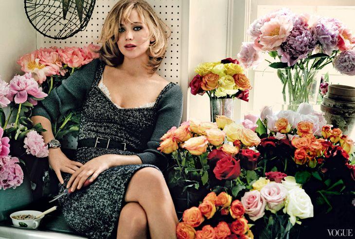 Jennifer Lawrence by Mario Testino