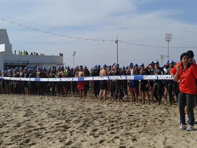 Garmin Barcelona Triathlon. 6000 participantes