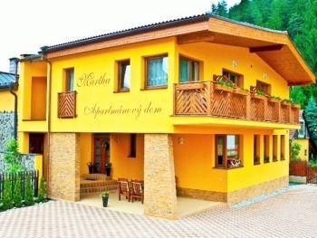 Apartmán. domy Martha a Ubyt. v súkromí Martuška - Liptovský Ján