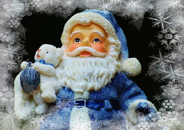 Mikołaj, Figurka, Boże Narodzenie, Dekoracja