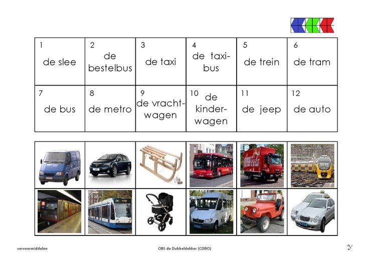 vervoermiddelen 6