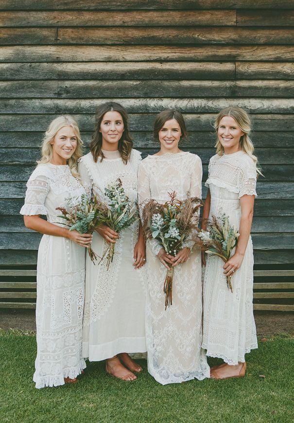 Stunning 63 Stylish White Bridesmaid Dresses For Your Wedding