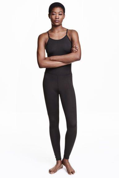 0bd1326246e H amp M yoga jumpsuit  yogajumpsuits Black Jumpsuit
