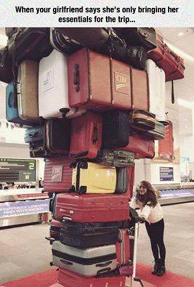 19 Funny Suitcase Pics Photos Memes Sillycool