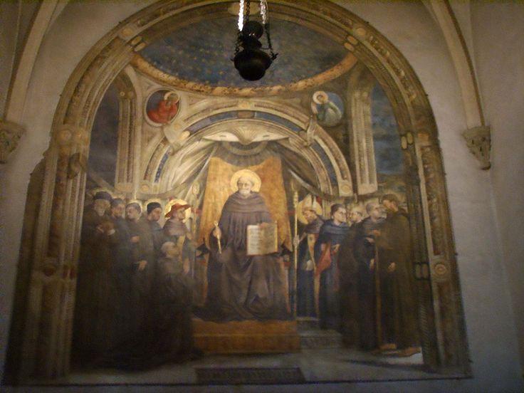 Santa Trinita, Neri di bicci, San giovanni gualberto e santi vallombrosani - Category:Neri di Bicci - Wikimedia Commons