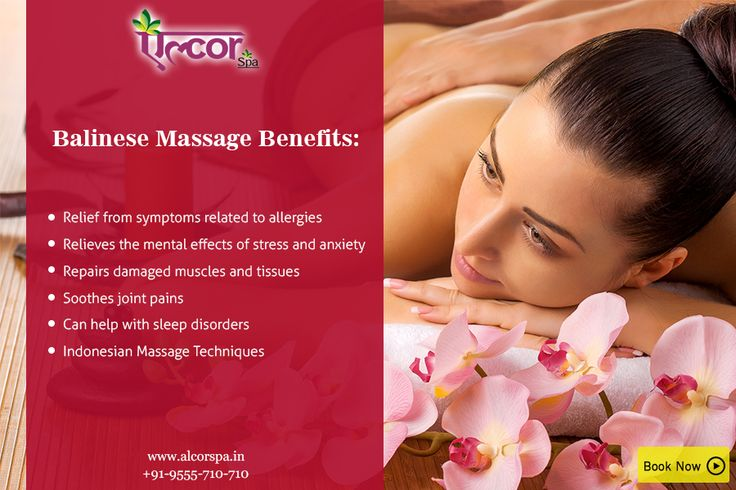 Sooth yourself with the exotic #BalineseMassage at #AlcorSpa. Balinese massage has originated in Bali and has a wide range of benefits.