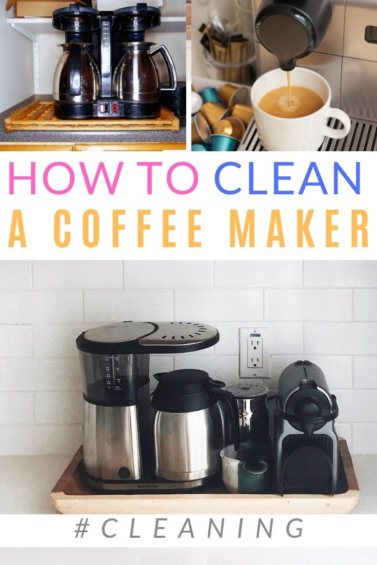 How to clean a coffee maker cleaning coffee maker