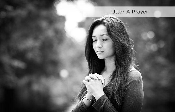 Spiritual Meditation - Utter A Prayer