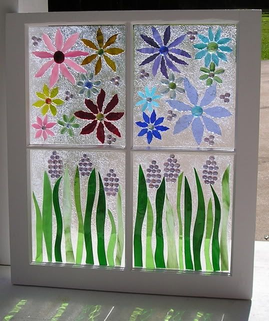 antique window painging ideas | my garden junk projects lol window frame before window frame after