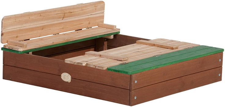 15 best Bac a sable images on Pinterest Outdoor games, Sand boxes - Maisonnette En Bois Avec Bac A Sable