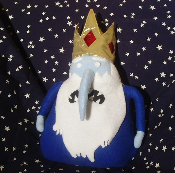 Adventure Time Finn Jake  The ICE KING by PlushSunday on Etsy, $55.00