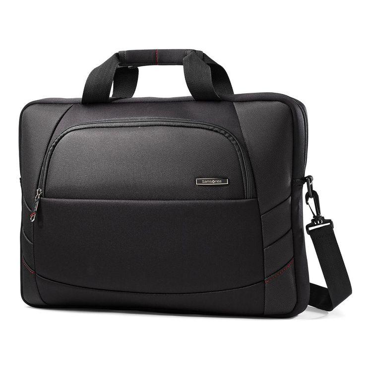 Samsonite Xenon 2 Slim 17-Inch Laptop Briefcase, Black