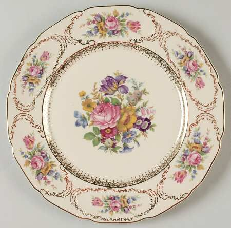 Queenu0027s Bouquet  china pattern from Rosenthal.  sc 1 st  Pinterest & 57 best Rosenthal China images on Pinterest | Porcelain Deutsch and ...