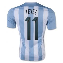 2015 Argentina Soccer Team Home Tevez #11 Replica Jersey 2015 Argentina Soccer Team Home Tevez #11 Soccer jerseys|cheap Agentina football jerseys sale