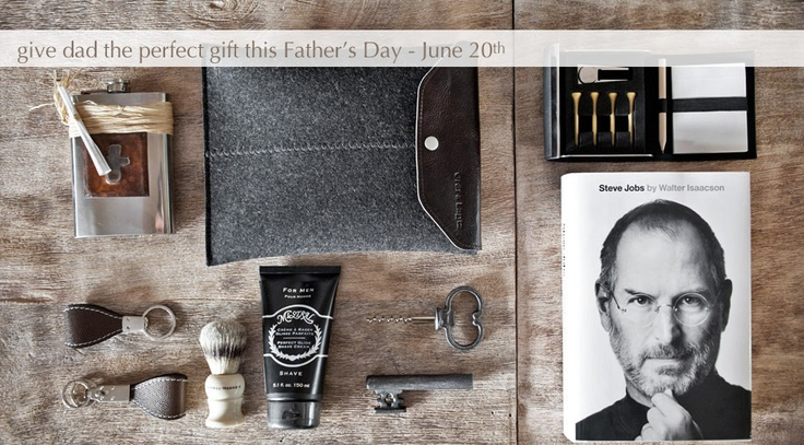 Give Dad the perfect gift.  Great gift ideas from The Picket Fence.