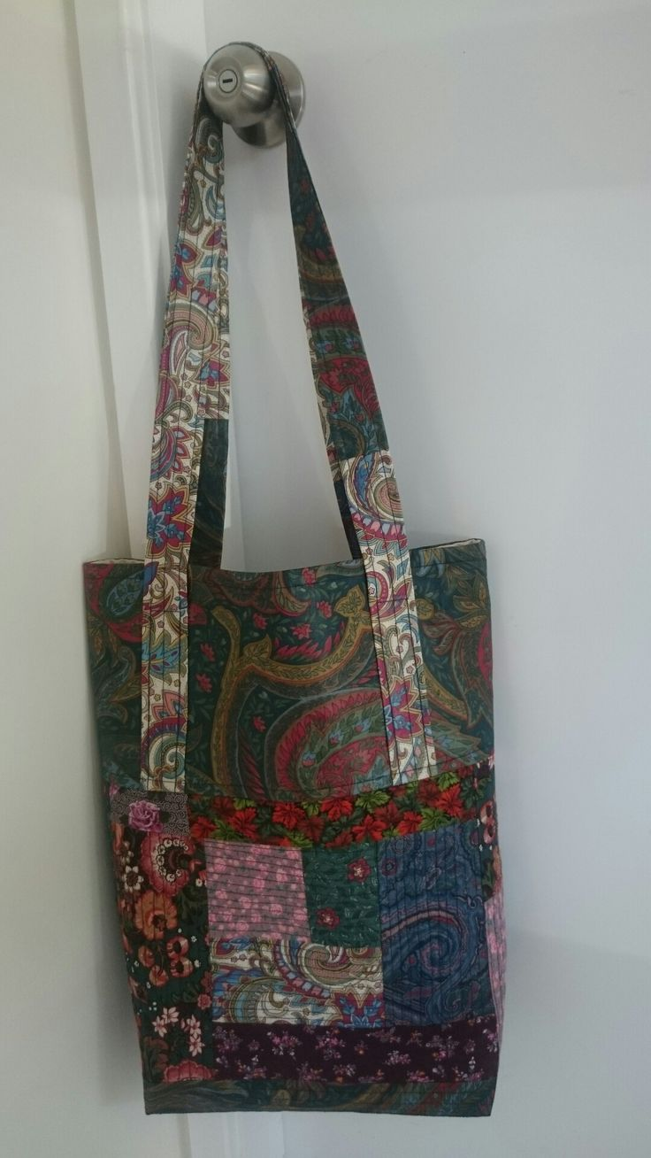 A bag for Colleen in memory of her mum.