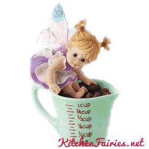 Chocolate Chips Fairie -From Series Thirteen of the My Little Kitchen Fairies collection