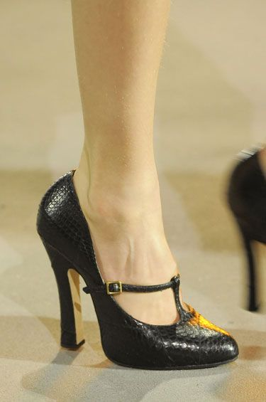 Marc Jacobs is the bomb when it comes to shoes.  There are VERY few I don't like.  These are another hit.  Love them!