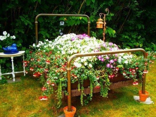 509 best unique flower beds images on Pinterest Flowers