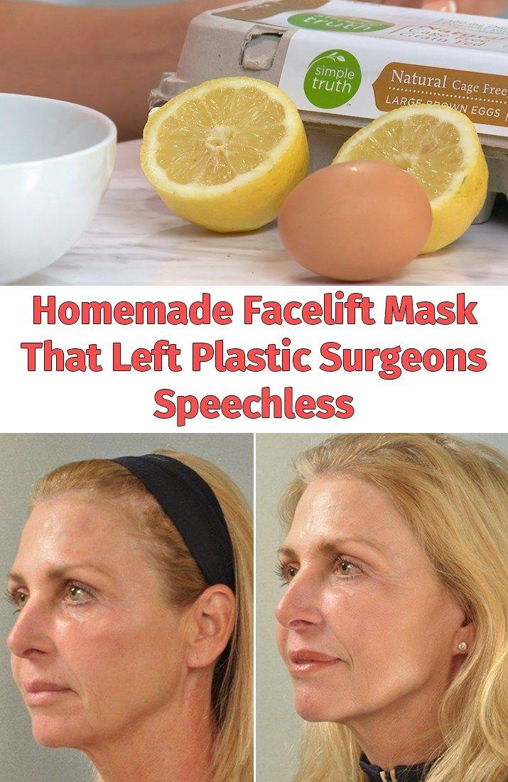 Homemade Facelift Mask That Left Plastic Surgeons Speechless