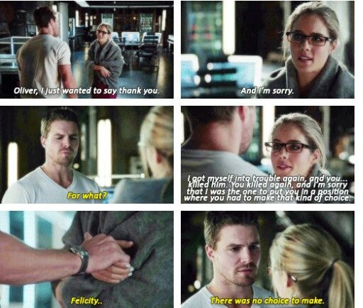 OH GOSH THE FEEEELS! <3 I have never shipped a fake couple so MUCH!!! AHHHH OLICITY!