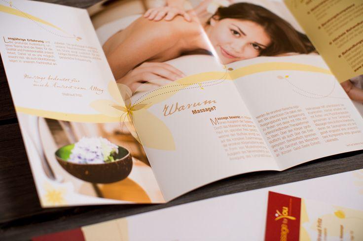 MASSAGE FOR YOU | Logo Design, Corporate Design, Direct Marketing, Webdesign by Big Pen