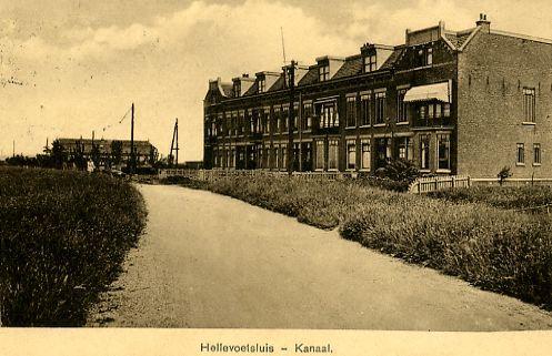 Hellevoetsluis - Kanaal voor 1940