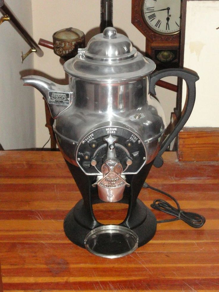 Antique Electric Grinder ~ Antique american duplex coffee grinder company large