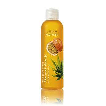 Shower Gel with Soothing Aloe Vera & Maracuja    Zklidňující sprchový gel s výtažky z marakuje a aloe vera