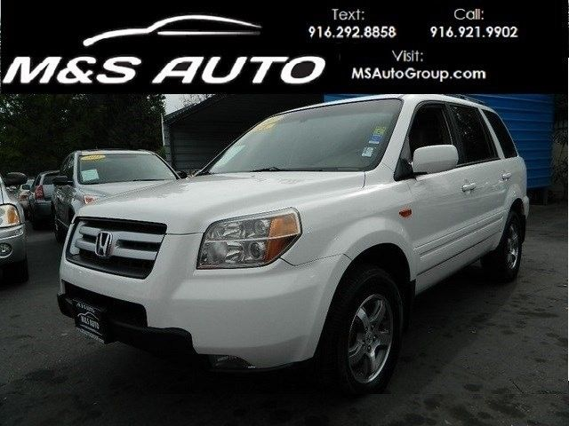 #HellaBargain 2007 Honda Pilot EX-L - Sacramento's favorite car dealer since 1995! We can help with financing through Banks and Credit Unions - call for info 916-921-9902 or visit our website at www.MSAutoGroup.com. - SKU: 2HKYF18537H537868 - Price: $13,595.00. Buy now at https://www.hellabargain.com/2007-honda-pilot-ex-l.html