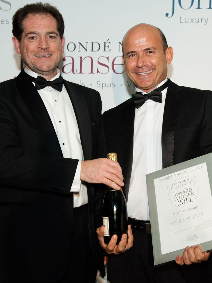 "Conde Nast Johansens 2014 Award of Excellence in the category ""Best for Readers""- Astra Suites, Imerovigli, Santorini, Greece"