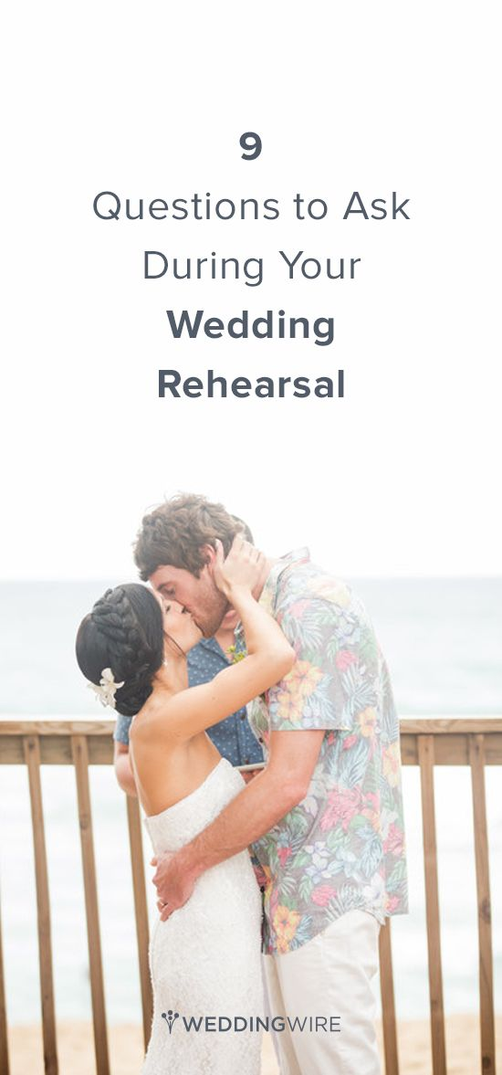Wedding Advice: 9 Questions to Ask During your Wedding Rehearsal {Karism Photography}