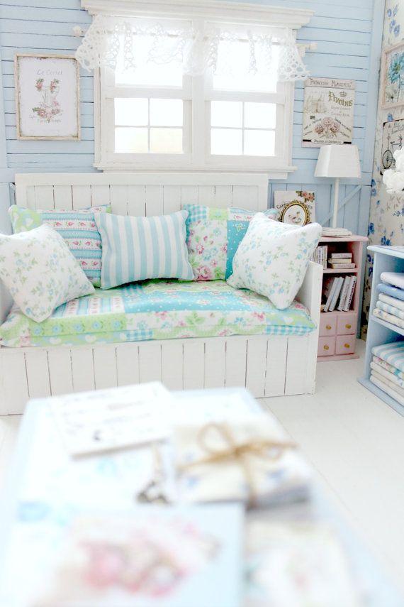 ♡ ♡ Joie d 'Vivre habitación de costura Diorama por MoonchildSilverdream