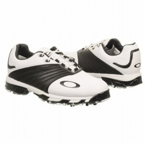 Oakley EC1327487 Golf Cleats Mens White Leather - ONLY $170.00