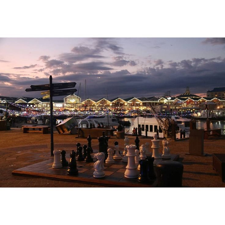 Tonight, like most nights, was just a big game of #chess #MeetSouthAfrica #AfrikaDiaries #Waterfront #CapeTown #GYD  #SouthAfrica #potd