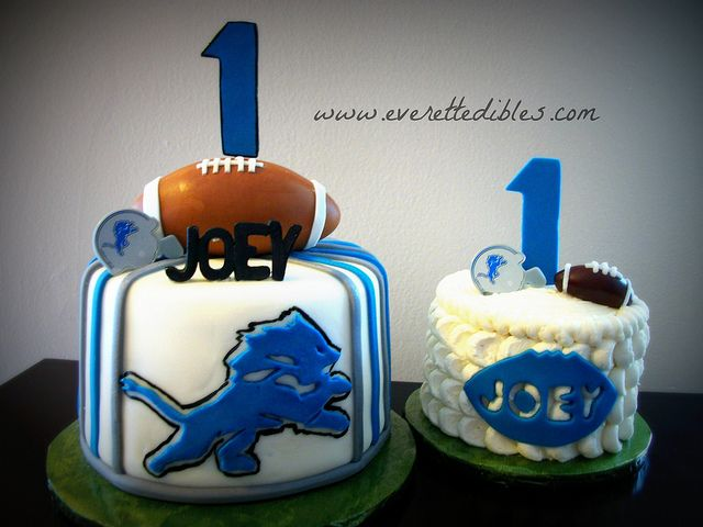 Detroit Lions Football Birthday Cake 11/2013 | Flickr - Photo Sharing!