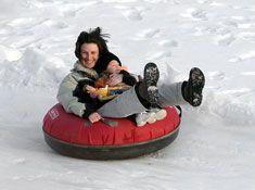 Hawksnest snow tubing park day trip | to do and to go | Pinterest