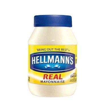 Hellmann's mayonnaise...there you go, Ina! I can actually find this brand...