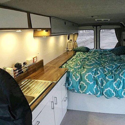 Cozy Sprinter down in Australia photo: @_thevanlife Show off your Sprinter Van! Tag you pics #sprintercampervans to be featured Regram via @sprintercampervans